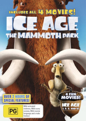 Ice Age Mammoth Pack (All 4 Movies)  [4 Discs]