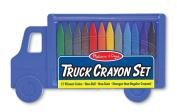 Melissa And Doug Truck Crayon Set