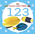 1,2,3 (DK Touch and Feel) [Board book]