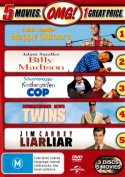 Billy Madison / Happy Gilmore / Kindergarten Cop / Liar Liar / Twins (5 Movies  [3 Discs] [Region 4]