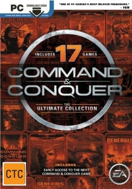 Command and Conquer The Ultimate Collection (Code in a Box)