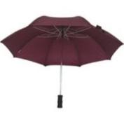 Homebasix TF-02 Rain Umbrella Compact 21 Inch Burgundy