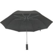Homebasix TF-02 Rain Umbrella Compact 21 Inch Black