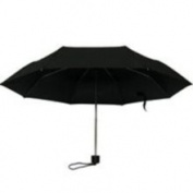 Homebasix 123 Rain Umbrella Mini 19 1/2 Inch Black