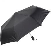 ShedRain Auto Open Mini Umbrella - Solid Colors Black - ShedRain Umbrellas and Rain Gear