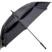 "Golf Gifts & Gallery 62"" Black Windbuster Umbrella"