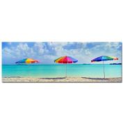Trademark Art 8x24 Inches Umbrellas by Preston