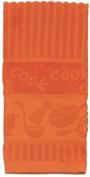 Kay Dee Designs R0823 Orange Terry Towel - Pack of 6