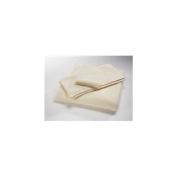 Home Source 10102BAN01 100 Percent Cotton Bath Towel - Ivory