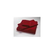 Home Source 10102BAR90 100 Percent Cotton Bath Towel - Claret