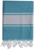 Nine Space Ayrika Classic Fouta Towel in Blue