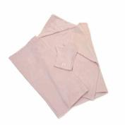 Barefoot Dreams Hooded Towel Pink - Seahorse