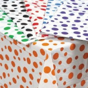 Oriental Trading Company 3/667 Polka Dot Tablecloths - Tableware & Table Covers
