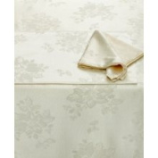 Homewear Table Linens, 70 Dinner Party Ivory Round Tablecloth with 4 N