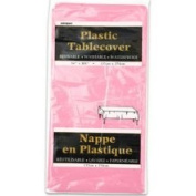 Cod Wholesale Plastic Table Cover Rectangle - Hot Pink