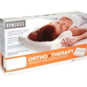 HoMedics Ortho Plus Therapy Memory Foam Contour Pillow