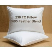 Feather Blend Pillow 230 Thread Count Standard Size
