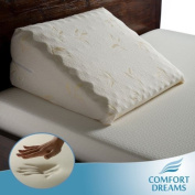 Comfort Dreams Personal-Size Memory Foam Bed Wedge