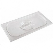 World Cuisine 14579-00 1/6 Size Polycarb Steam Table Pan Lid
