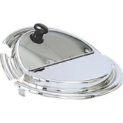 Admiral Craft CHI-85 Stainless Steel Hinged Cover for Vegetable Inset