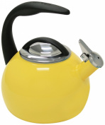 Chantal 40th Anniversary 1.9l Enamel on Steel Canary Yellow Tea Kettle