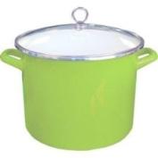 Reston Lloyd 78901 Lime - 7.6l Stock Pot with Glass Lid