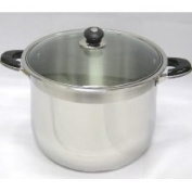 Prime Pacific 22.7l Stainless Steel Stock Pot with Glass Lid