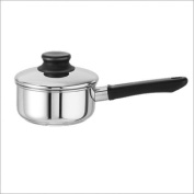 Kinetic 1.9l 18/10 Stainless Steel Sauce Pan with Lid
