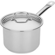 MIU France 95031 Stainless Steel Stay-Cool 2.4 Quart Covered Saucepan