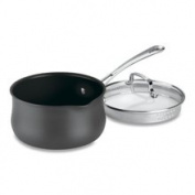 Cuisinart Contour Hard Anodized 1.9l Saucepan with Cover 6419-18P