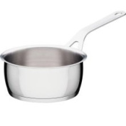 A di Alessi Pots & Pans Saucepan, Stainless Steel, 16 cm