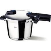 Fissler Vitaquick 8l. Pressure Cooker w/Perforated Inset