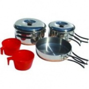 Chinook 41020 Ridgeline Cookset Duo - Pots and Pans, Stainless Steel