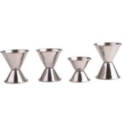 M.V. Trading Co. 4 Piece Stainless Steel Jigger Set