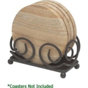 Thirstystone H45 Dark Brown Upright Scroll Coaster Holder