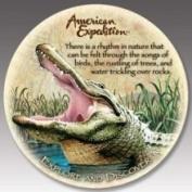 American Expedition Alligator Stone Coaster Set CTST115
