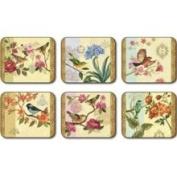 Jason D2665 Bird Study Coasters, Set of 6