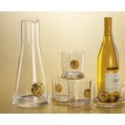 Abigails Lions Head Wine Coaster with Rim