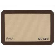Sil-Eco E-99129 Non-Stick Silicone Baking Liner, Medium Size, 23cm - 1.3cm x 36cm - 1cm