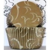 Goldas Kitchen Baking Cups - Arabesque - Gold Standard