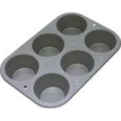 OvenStuff Non-Stick 6-Cup Texas Muffin Pan