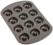 Wilton Nonstick 12-Cavity Mini Donut Pan 10 in