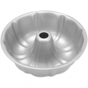 Wilton Recipe Right Non-Stick Fluted Tube Angel Food Cake Pan