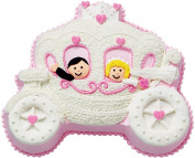 "Novelty Cake Pan-Princess Carriage 35cm x 30cm X2"""