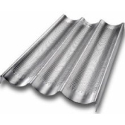 USA Pans 3-Well Perforated French Loaf Pan
