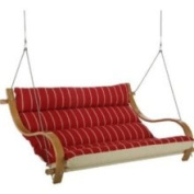 Hatteras Hammocks CEQX Equestrian Deluxe Cushioned Double Swing