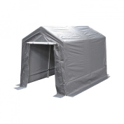 King Canopy G0712 Storage Shed, 2.13m x 3.66m
