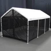 King Canopy 10 x 20 Canopy Screen Room with Floor