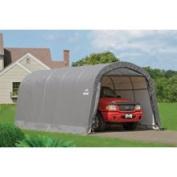 ShelterLogic AutoShelter Roundtop Portable Garage - Grey, 6.1mL x