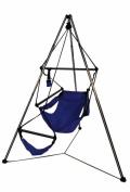 Hammaka 4021-HMKA Hammock Chair Portable Tripod Stand Blue Aluminium